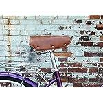 Auveach-Sella-Bicicletta-con-Molle-Sellino-Morbido-Antiprostata-Pelle-PU-Impermeabile-con-Ammortizzatore-e-Confortevole-per-Bici-Vintage