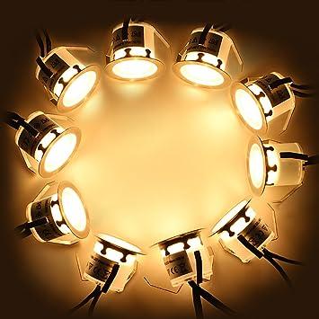 10X Spot Encastrable LED Lampe Exterieur 12V IP67 Imperméable pour ...