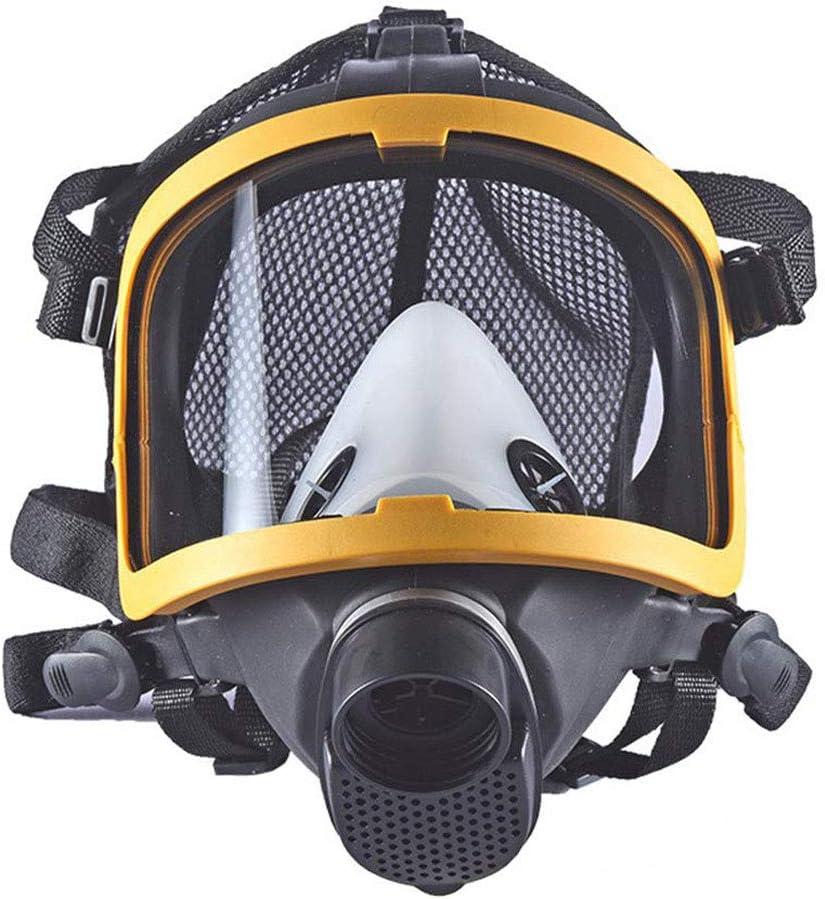 MOXIN Máscara de Gas Gafas Mascarilla Facial Gas Respirador Protección para pesticidas, formaldehído, Pintura, Aerosol Antipolvo Productos Quimicos Trabajo