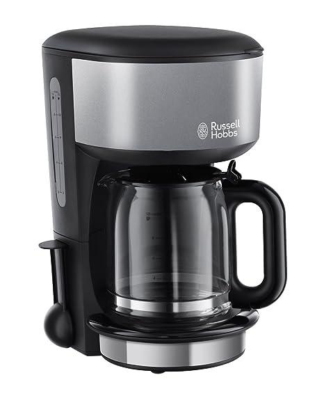 Russell Hobbs 20132-56 Colours - Cafetera de filtro, capacidad de 1,25 l, jarra de cristal, prepara 10 tazas grandes