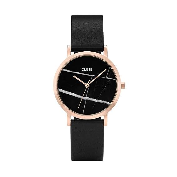 CLUSE Reloj Analógico para Mujer de Cuarzo con Correa en Cuero CL40104: Cluse: Amazon.es: Relojes
