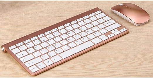 Kitechildhood - Juego de teclado y ratón inalámbricos (2,4 G ...