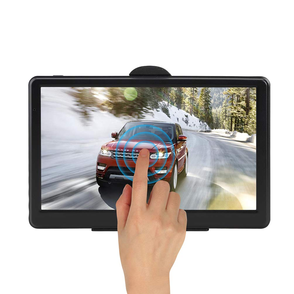 7-inch GPS Navigation, 8GB / 256MB with Sunshade Portable Real Voice Navigation Device for Vehicle Truck Taxi by DaDaU.