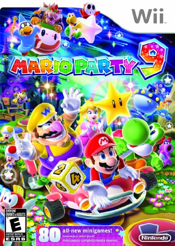 Mario Party 9 (Best 4 Player Wii Games)