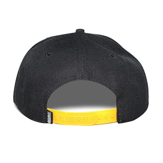 0664ccb710c Bioworld Men Licensed Iron Fist Sublimated Brim Snapback Hat O S Black  Yellow  Amazon.in  Clothing   Accessories