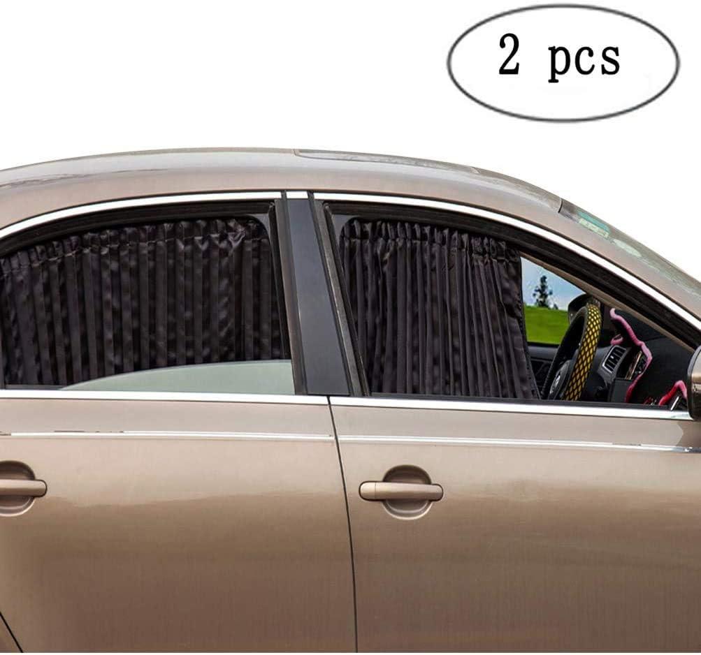 Car Truck Auto Retractable Side Window Curtain Summer Sun Shield Blind Protector