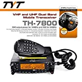 TYT-TH-7800-50W-Dual-Band-Dual-Display-Repeater-Car-Truck-Ham-Radio