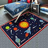 Children's room-bedroom home crawling baby game universe floor carpets,The solar system