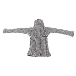 Homyl Maglione A Petto Aperto Femminile Vestiti Abiti d'inverno Moda per Accessori Regali per Bambino Casuale Stile - Nero