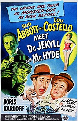 Abbott Costello Meet Dr Jekyll Mr Hyde - 1953 - Movie Poster