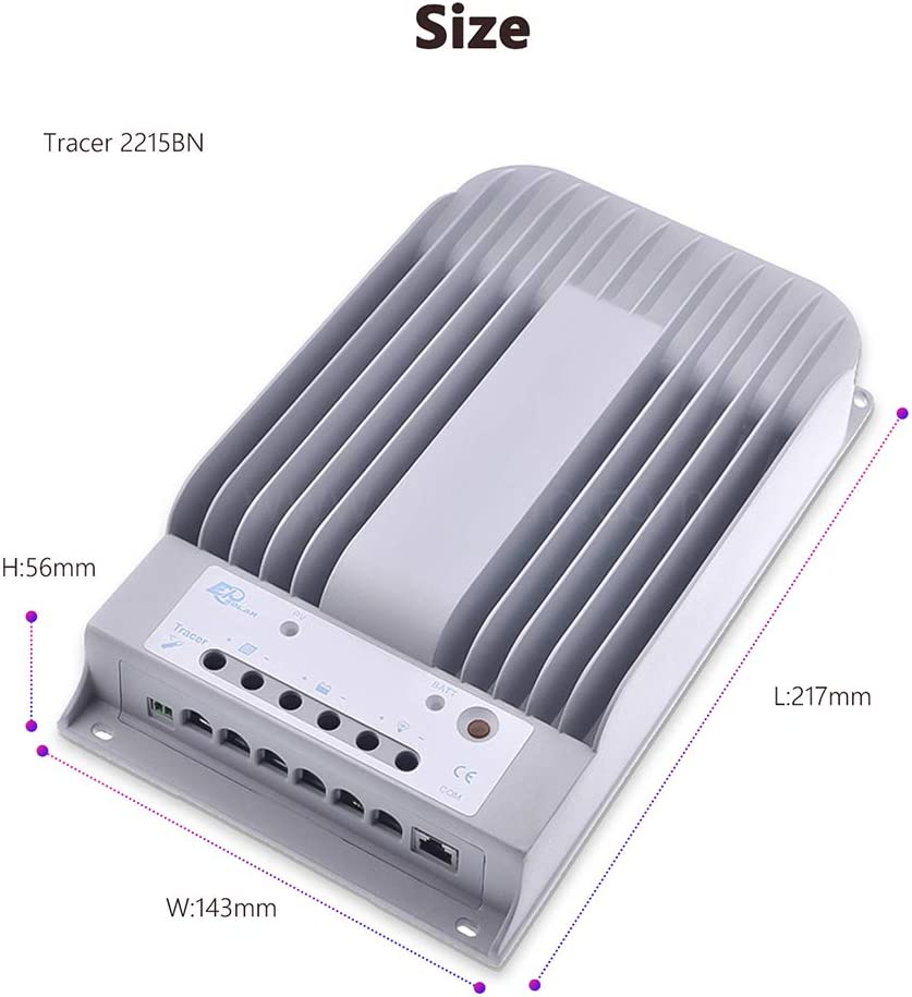 MPPT Solar Charge Controller 1215BN