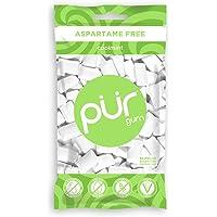 PUR Gum Coolmint Aspartame Free, 55 Pieces (2.8 Ounce Bag)