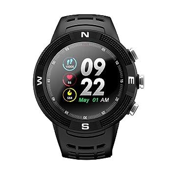 F18 1.3 Montre connectée IP68 étanche Sport Bluetooth 4.2 Fitness Smart Watch GPS Podomètre avec moniteur