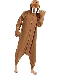 Amazon.com: cocoplay adulto MORSA Animal Pijama Disfraz de ...