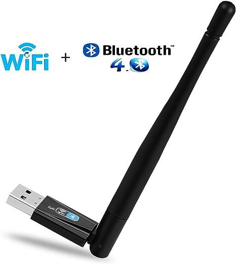 Ifun4u Wifi Bluetooth 4 0 Usb Adapter Black Computers Accessories