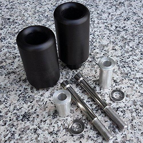 (i5 No-Cut Black Frame Sliders for Suzuki GSXR600 GSXR750 GSXR 600 750 2004-2005.)