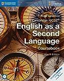 Cambridge IGCSE English as a Second Language Coursebook with Audio CD.