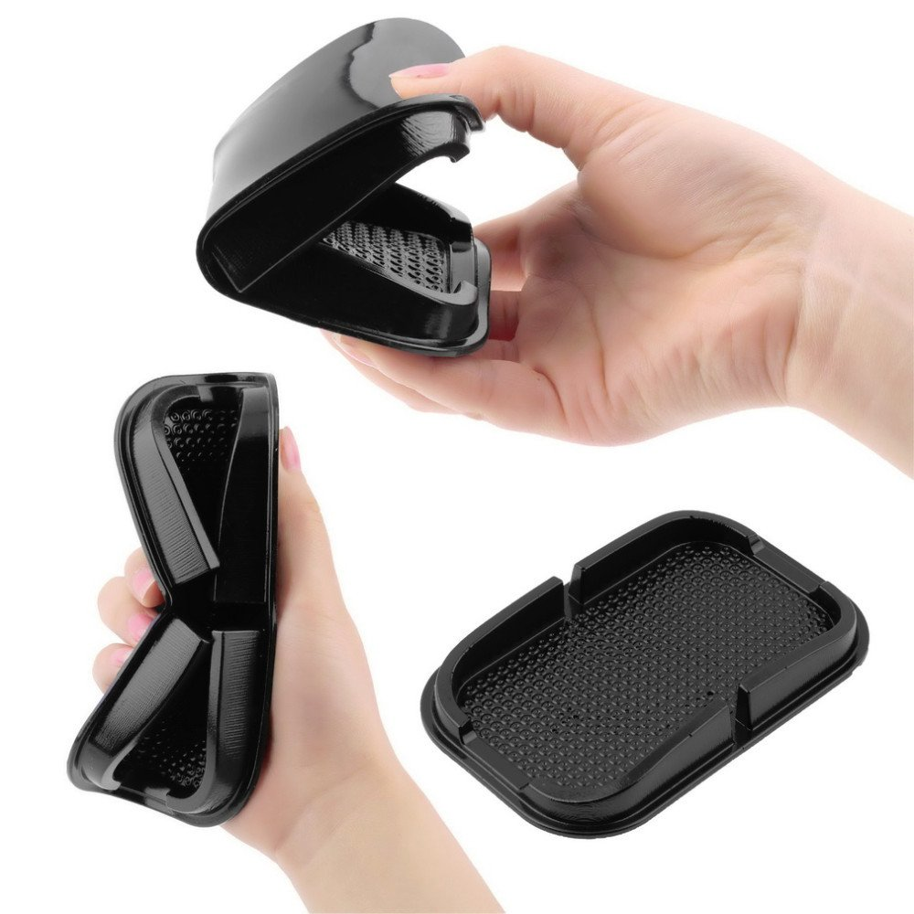 SKS Distribution/® Universal Multi-functional Car Anti Slip pad Rubber Mobile Sticky stick Dashboard Phone Shelf Antislip Mat