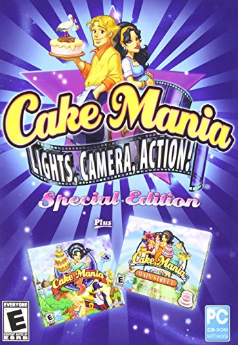 Cake Mania: Lights, Camera, Action! Special Edition SB