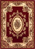 Well Woven Timeless Le Petit Palais Red Traditional Area Rug 9'2'' X 12'6''