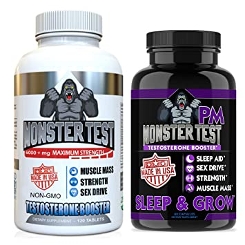 Amazon Com Angry Supplements Testosterone Booster For Men 2 Pack