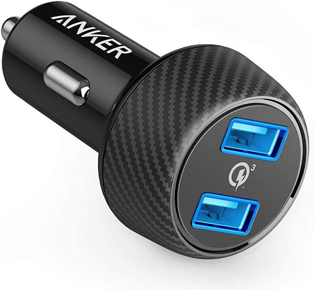 Anker Quick Charge 3.0 39W Dual USB Car Charger Adapter