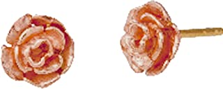 product image for Black Hills Gold Rose Earrings