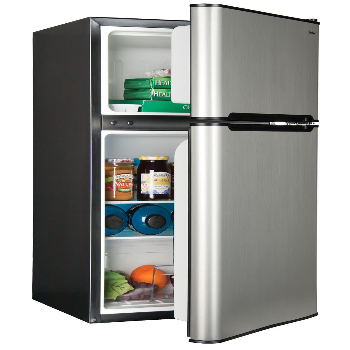 haier mini fridge parts. haier hc31tg42sv 3.2 cu. ft. top mount refrigerator/freezer, stainless steel: amazon.ca: electronics mini fridge parts t