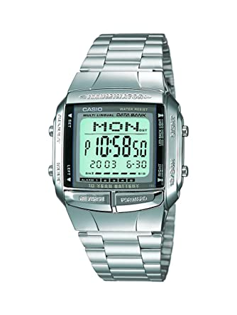9fefe59b93e5 Buy Casio Vintage Series Digital Grey Dial Men s Watch - DB-360-1DF (DB27)  Online at Low Prices in India - Amazon.in