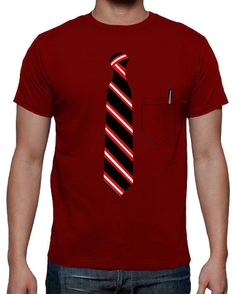 latostadora - Camiseta Corbata y Bolsillo para Hombre: impropio ...