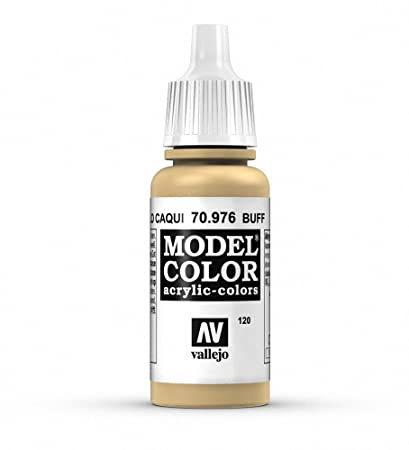 What Color Is Buff >> Vallejo Model Color 17 Ml Acrylic Paint Buff