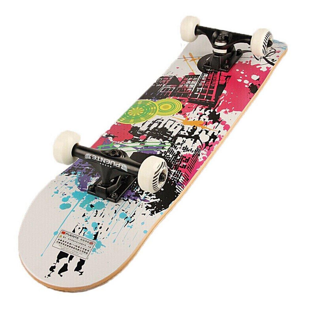 激安大特価! ドリフトボードフリーラインスケートフラッシュ大人の子供プロスケートボーダー旅行サイレント四輪ダイナミックボード漫画パターン(1P) D B07FLTNB1F B07FLTNB1F D D D, ジュエリーショップ TOKUGAWA:e4260bff --- a0267596.xsph.ru