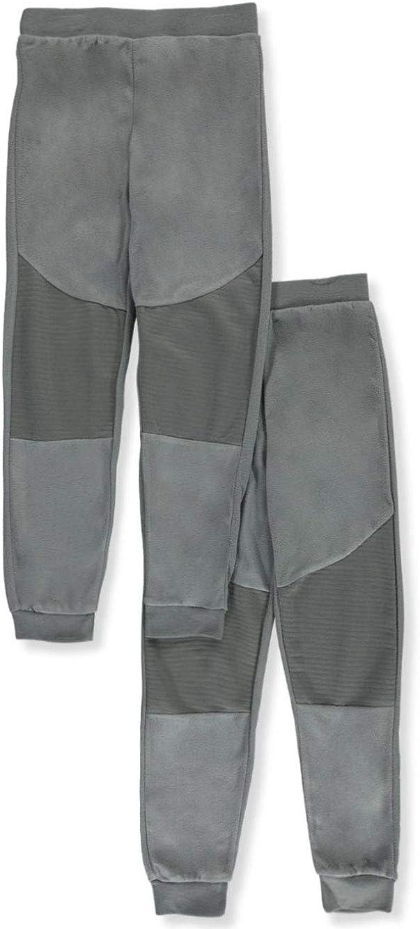 Quad Seven Boys Knee-Paneled 2-Pack Jogger Pajama Pants