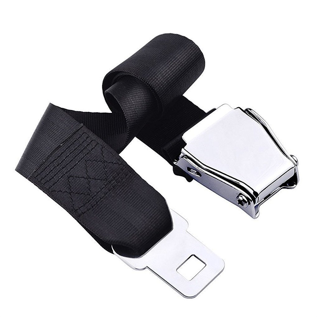 Gearmax Airline Seat Belt Extender Adjustable for Most Major Airplane
