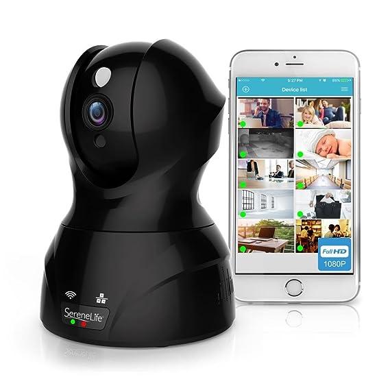 Review SereneLife Indoor Wireless IP