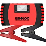 GOOLOO 800A Peak 18000mAh 12V Car Jump Starter (Up to 7.0L Gas or 5.5L Diesel Engine) Portable Power Pack Auto Battery Booster Phone Charger Built-in LED Light and Smart Protection