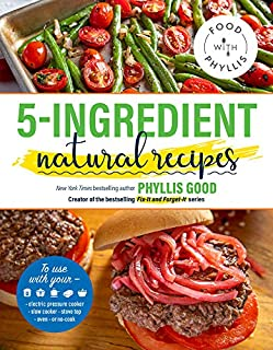 Book Cover: 5-Ingredient Natural Recipes