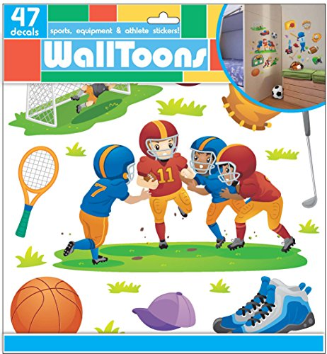 Edge Home Products Sports Walltoons Wall Sticker (Disney Football Helmet)