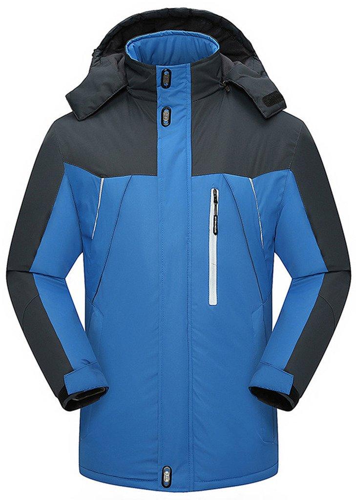 Sawadikaa Damen Winter Outdoorjacke wasserdicht Wandern Fleece Übergröße Skijacke Regenjacke