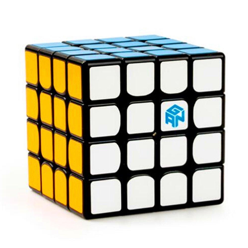 CuberSpeed Gan 460 M Black 4x4 Speed Cube Gans 4X4X4 Magnetic Black Magic Cube by CuberSpeed