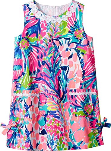 Lilly Pulitzer Kids Baby Girl's Little Lilly Classic Shift (Toddler/Little Kids/Big Kids) Multi Gumbo Limbo 7 - Lilly Pulitzer Infant
