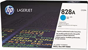 HP 828A LaserJet Imaging Drum, 3000 Page Cycle, Cyan (CF359A)