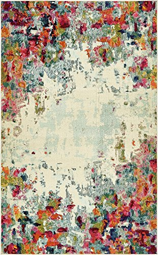 - Island Collection Modern Contemporary Rugs Living Dinning Bedroom Area Rug 5' x 8', Multi