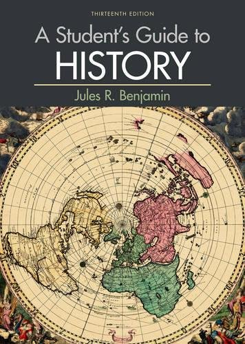 A Student's Guide to History (Best Computer For Business Students)