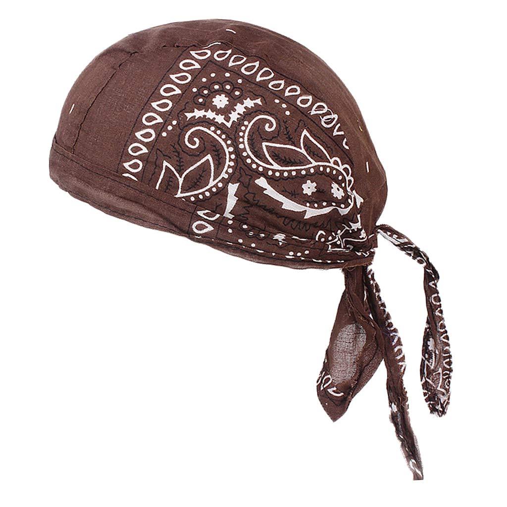 Baoblaze Damen Herren Headwear Bandana Kopftuch Chemo Kopfbedeckung Krebs Cap