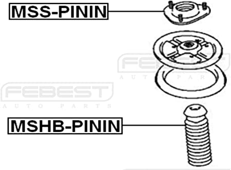 For Mitsubishi Mb864911 Febest Shock Absorber Boot Front