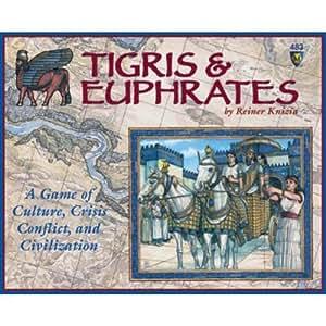 Mayfair Games Tigris and Euphrates - Double Scenario Edition