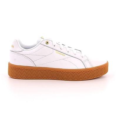 e3fd8061084 Reebok Women s s Royal Complete Pfm Fitness Shoes Multicolour (White Gold  Metallic Gum 000