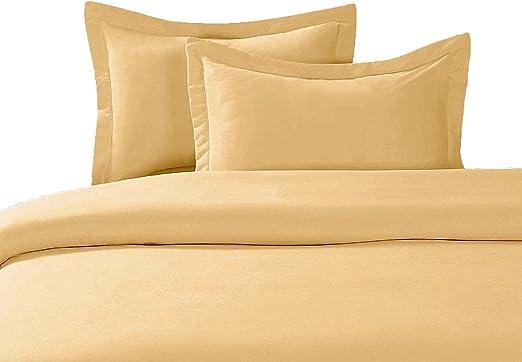 100/% Organic Cotton Damask Sheet Set-Gold-All Sizes-Free Organic Cotton bag