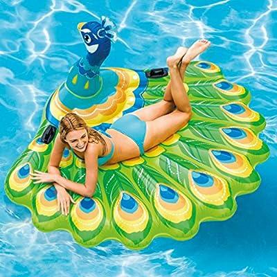 Intex Peacock Inflatable Island, 76